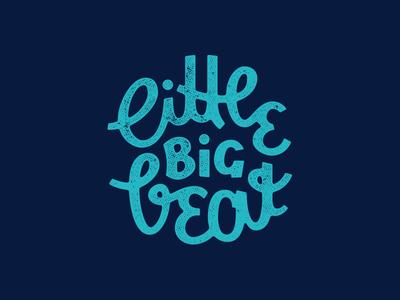 little big beat kids handlettering lettering costumtype