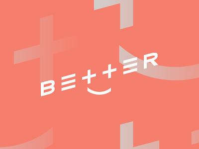 Better ‡) lettering customtype app logo logotype better