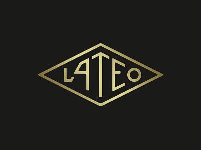 Lateo Logotype customtype lettering logotype