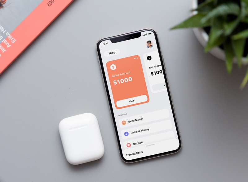 Bakong - បាគង App Redesign Concept payment interface banking finance app financial finance bank ux cambodia ux  ui ui