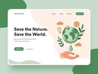 Landing page - Natworld
