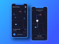 Finding Parking Space - Mobile App