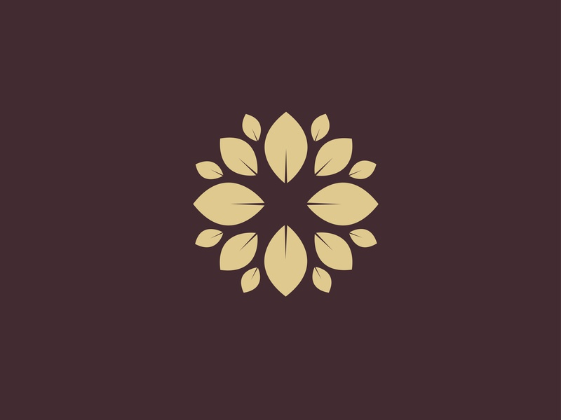 The Park City - logo Concept brand fresh nature symbol mark leaf branding logo flower floral
