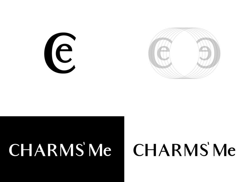 Charms' Me - Logo typogaphy icon logo branding wordmark celogo monogram design logotype