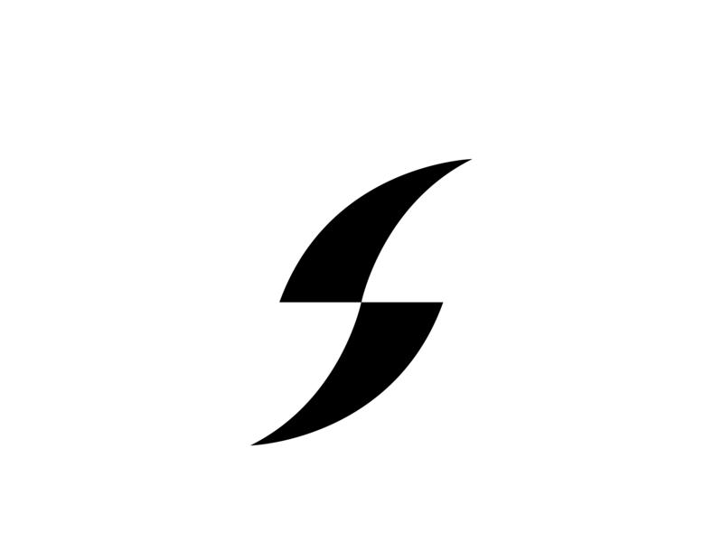 S MONOGRAM s logo icon logotype mark monogram logo