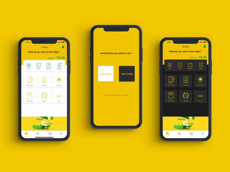 SmartLuy - E-Wallet Payment ( redesign ) redesign design dark app wallet data finance e-commerce homescreen e-wallet payment ux  ui ux design