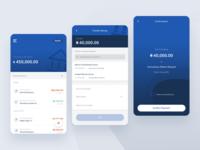 Banking app app lagos designer mobile app design ux ui banking app