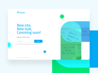 Coming soon page branding logo web user interface design user experience landingpage uiux coming soon page