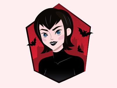 Mavis digital art vector character design illustration