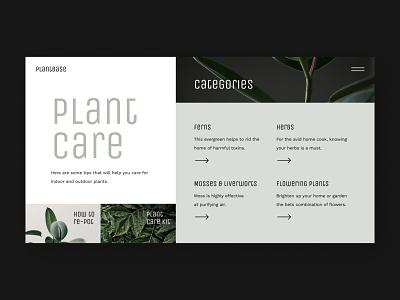 PlantBase design challenge figma ui design ui plant care plants