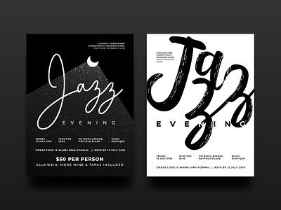 Jazz Posters illustration design jazz jazz poster poster design