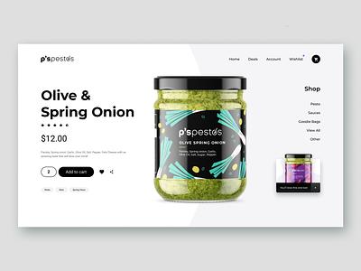 Olive & Spring Onion web label design ux logodesign logo design logo design concept illustration branding ui design logo