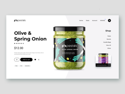 Olive & Spring Onion