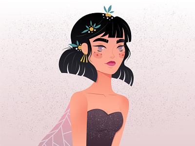Fairy Lady vector digital illustration illustration character design digital art digitalart