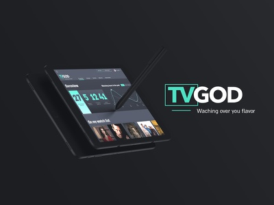 TVGod Concept Dashboard design ui dashboard