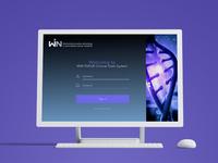 Win - Consortium Clinical Trials System website design