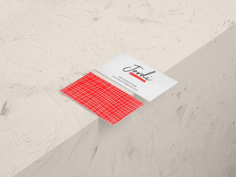 Jordi Branding & Identity logo illustration design ui