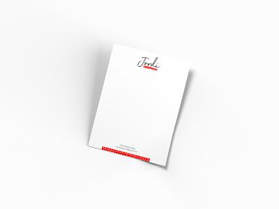 Jordi Branding & Identity brand logo illustration design ui