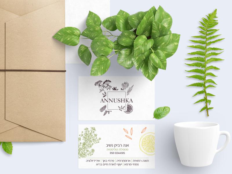 Annushka Branding & Identity typography vector branding brand illustration logo design ui