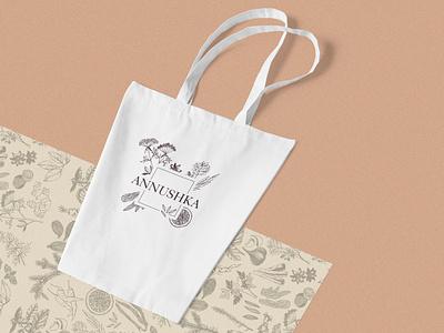 Annushka Branding & Identity typography vector branding design brand logo illustration ui