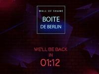 Boite de Berlin Countdown