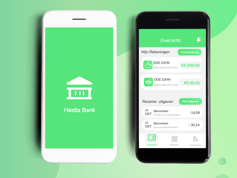 Banking  app illustration design branding redesign qrcode banking app bank