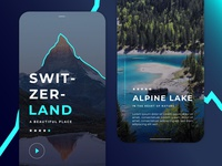 SwitzerLand Travel App Ui/Ux Project