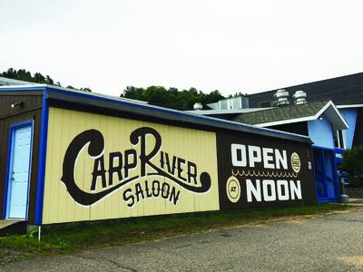 Carp River Saloon - Mural
