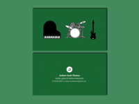 Business Card - Music instructor