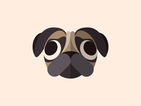 Dog Face Series - Pug