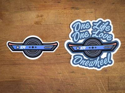 Onewheel stickers