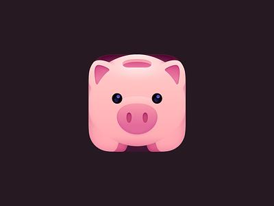 Piggy Bank Icon app icon app icon savings piggy bank bank pig piggy