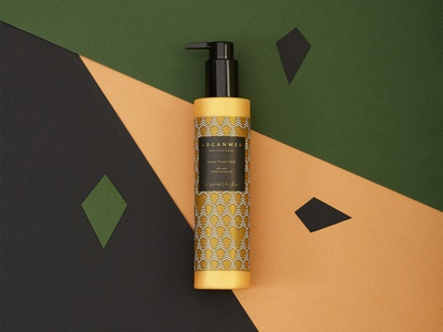 Arganmer packaging vectors label packaging design graphic design argan oil shampoo label design packaging
