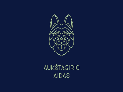 The Highforest Echo (Aukštagirio Aidas) logotype