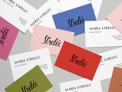 Strelec business cards