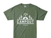 College Ministry Camping Tee