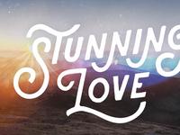 Sermon Series Art - Stunning Love