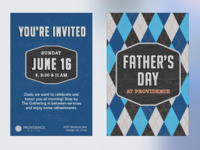 Fathers Day Postcard