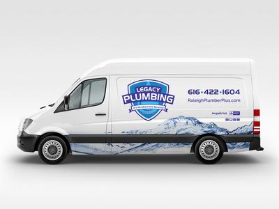 plumbing sprinter van