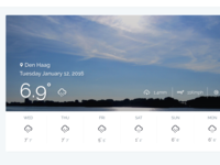 Dashboard Weather Forecast