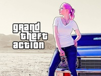 Grand Theft Photoshop Action