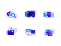 Dribbble icons white 2x