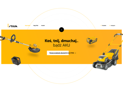 Garden Landing Page (Element) garden landing flat apps app typography branding web ux webdesign ui design