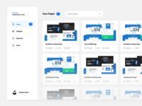 Dashboard - Page Generator