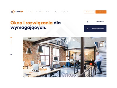 Window Page onepage page brand typography branding ux apps app web webdesign ui design