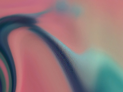 Untitled illustration abstract focus blur color test experimental fluid weird pastel blob organic