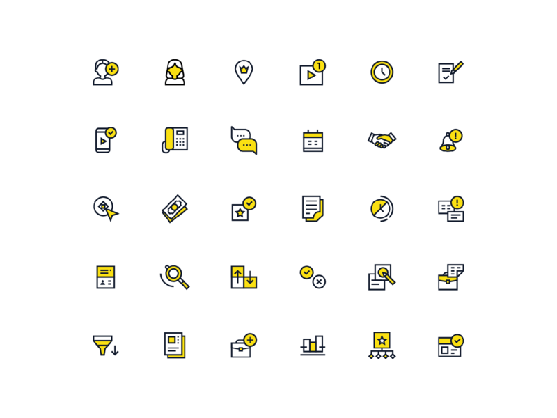30 presentation icons