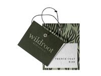 Wildroot Mercantile hang tag