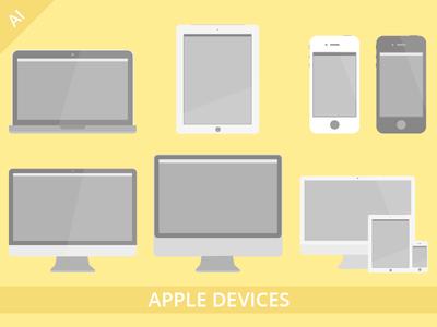 Apple Devices Set