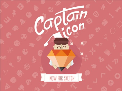 Captain Icon Sketchapp